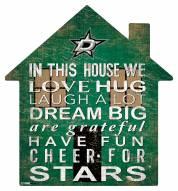 """Dallas Stars 12"""" House Sign"""