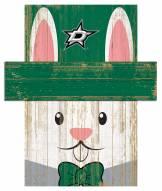 """Dallas Stars 19"""" x 16"""" Easter Bunny Head"""