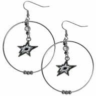 """Dallas Stars 2"""" Hoop Earrings"""