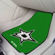 Dallas Stars 2-Piece Carpet Car Mats