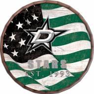 """Dallas Stars 24"""" Flag Barrel Top"""