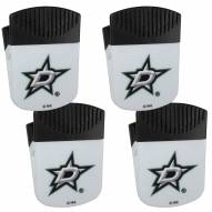 Dallas Stars 4 Pack Chip Clip Magnet with Bottle Opener