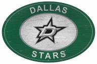 "Dallas Stars 46"" Heritage Logo Oval Sign"
