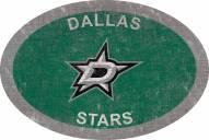 """Dallas Stars 46"""" Team Color Oval Sign"""