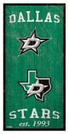 "Dallas Stars 6"" x 12"" Heritage Sign"