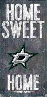 """Dallas Stars 6"""" x 12"""" Home Sweet Home Sign"""