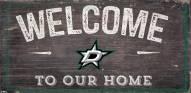 """Dallas Stars 6"""" x 12"""" Welcome Sign"""