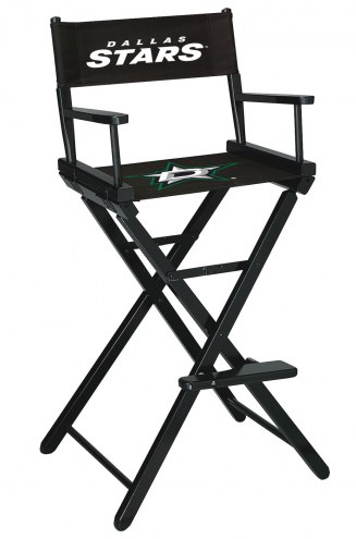 Dallas Stars Bar Height Director's Chair