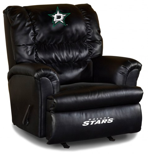 Dallas Stars Big Daddy Leather Recliner