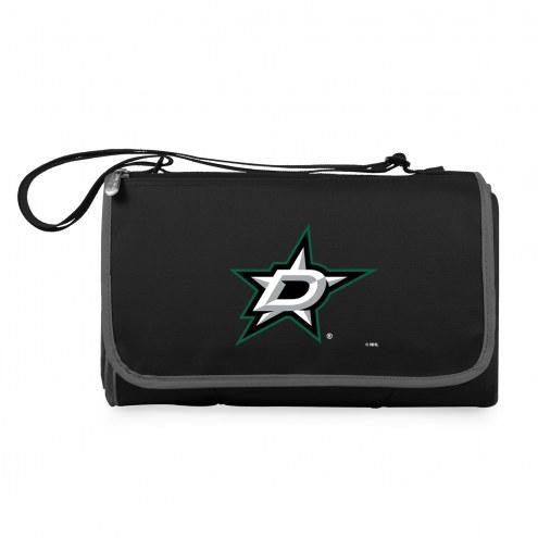 Dallas Stars Black Blanket Tote