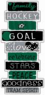 Dallas Stars Celebrations Stack Sign