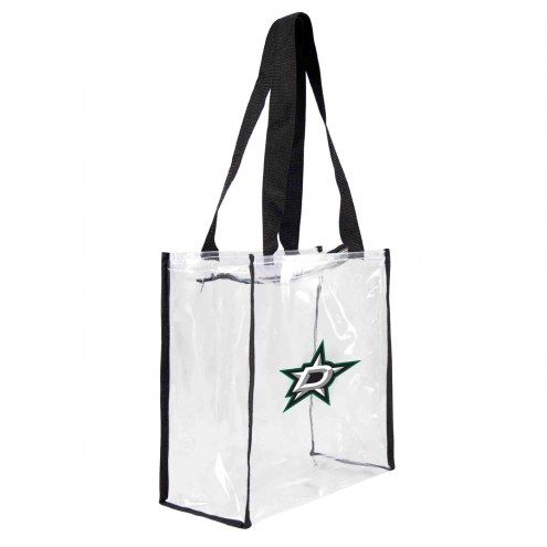 Dallas Stars Clear Square Stadium Tote