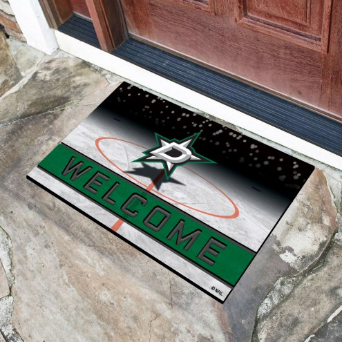 Dallas Stars Crumb Rubber Door Mat