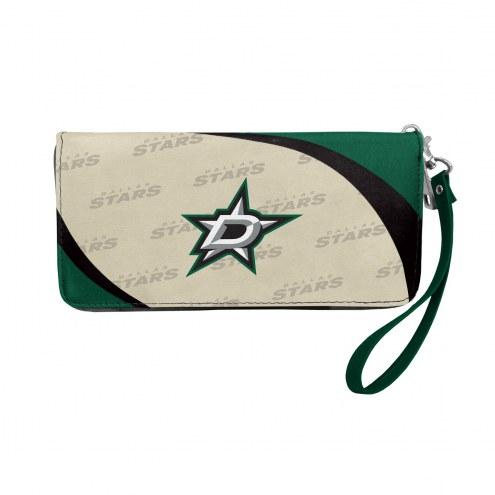 Dallas Stars Curve Zip Organizer Wallet