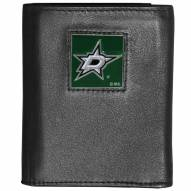 Dallas Stars Deluxe Leather Tri-fold Wallet in Gift Box