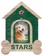 Dallas Stars Dog Bone House Clip Frame