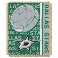 Dallas Stars Double Play Woven Throw Blanket