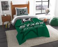 Dallas Stars Draft Twin Comforter Set