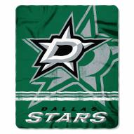 Dallas Stars Fade Away Fleece Blanket