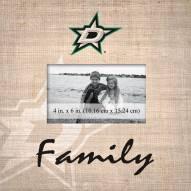 Dallas Stars Family Picture Frame