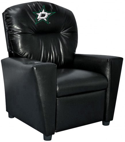 Dallas Stars Faux Leather Kid's Recliner