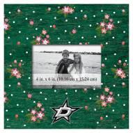 "Dallas Stars Floral 10"" x 10"" Picture Frame"