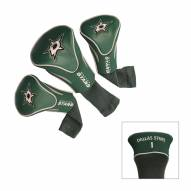 Dallas Stars Golf Headcovers - 3 Pack