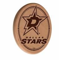 Dallas Stars Laser Engraved Wood Sign