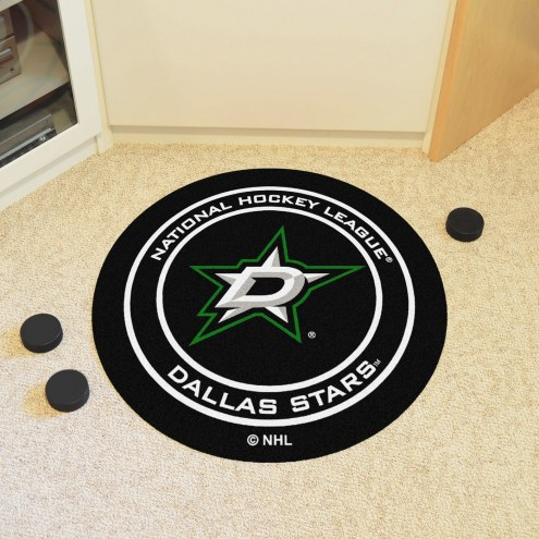 Dallas Stars Hockey Puck Mat