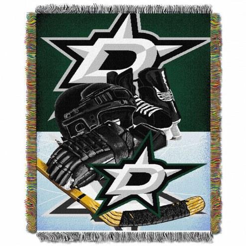 Dallas Stars Home Ice Advantage Throw Blanket