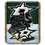 Dallas Stars Home Ice Advantage Throw Blanket