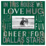 """Dallas Stars In This House 10"""" x 10"""" Picture Frame"""