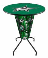 Dallas Stars Indoor/Outdoor Lighted Pub Table