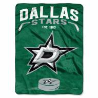 Dallas Stars Inspired Plush Raschel Blanket