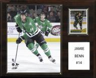 "Dallas Stars Jamie Benn 12"" x 15"" Player Plaque"