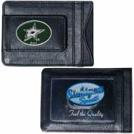 Dallas Stars Leather Cash & Cardholder