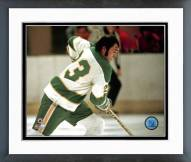 Dallas Stars Lou Nanne Action Framed Photo