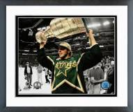 Dallas Stars Mike Modano with Stanley Cup Spotlight Action Framed Photo