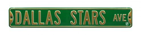 Dallas Stars NHL Authentic Street Sign