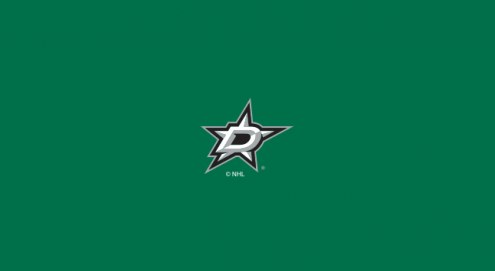 Dallas Stars NHL Team Logo Billiard Cloth