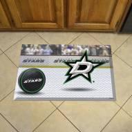 Dallas Stars Scraper Door Mat