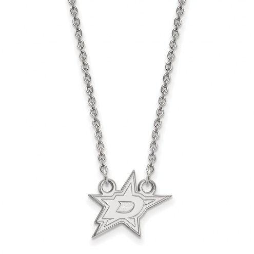 Dallas Stars Sterling Silver Small Pendant Necklace