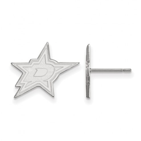 Dallas Stars Sterling Silver Small Post Earrings