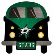 Dallas Stars Team Bus Sign
