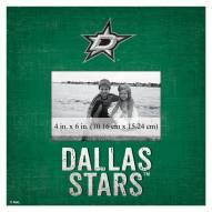 "Dallas Stars Team Name 10"" x 10"" Picture Frame"