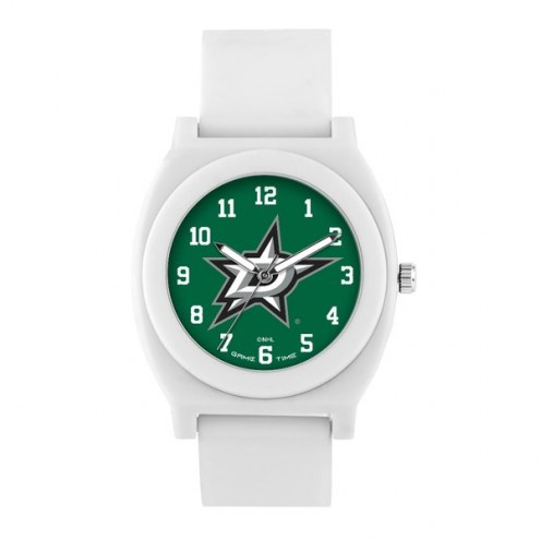 Dallas Stars Unisex Fan White Watch