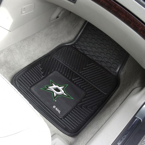 Dallas Stars Vinyl 2-Piece Car Floor Mats