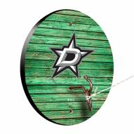 Dallas Stars Weathered Design Hook & Ring Game