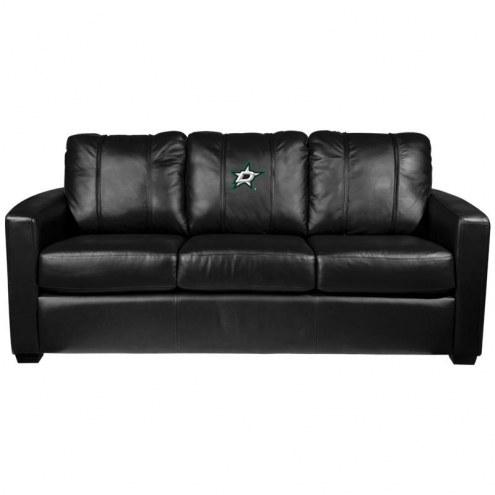 Dallas Stars XZipit Silver Sofa