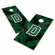 Dartmouth Big Green Herringbone Cornhole Game Set